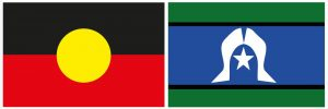 Indigenous and Torres Strait Islander flags