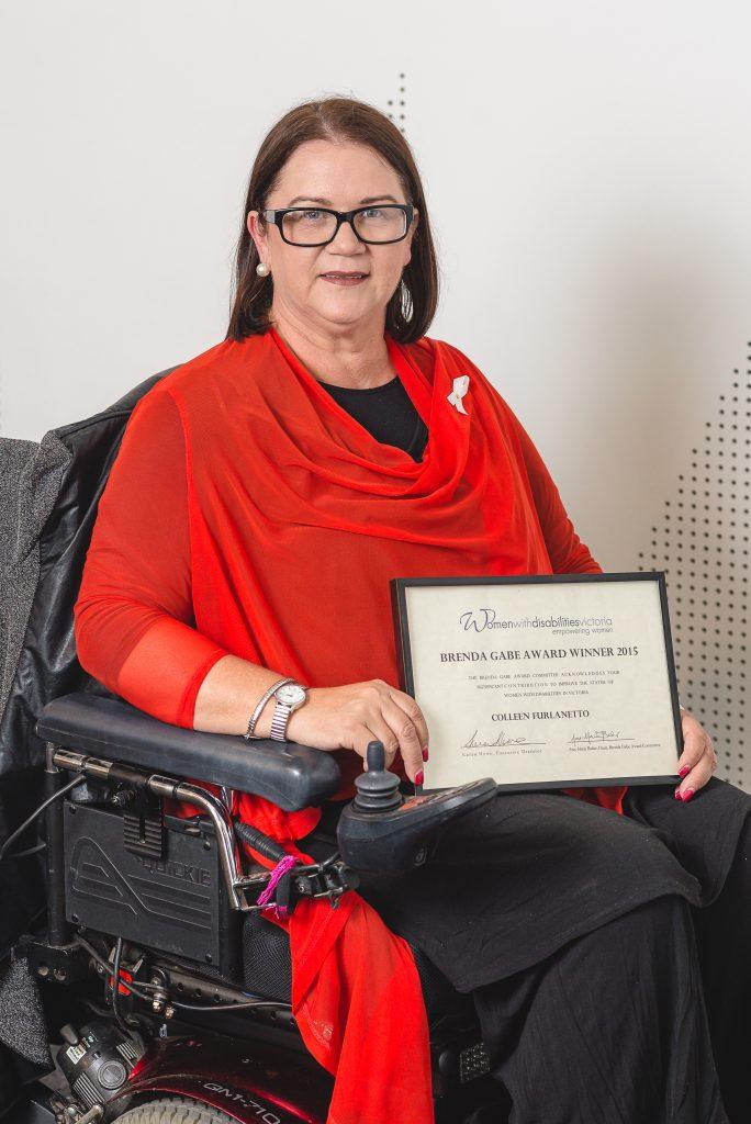 BG1 - Colleen Furlanetto, winner of the 2015 Brenda Gabe Leadership Award