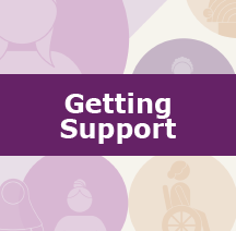 getting support