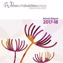 Cover of the WDV 2017-18 Annual report